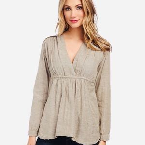 Free People Tops - Free People All Who Wander Empire Waist Tunic